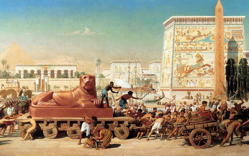 Israel in Egypt by Edward Poynter (1867)
