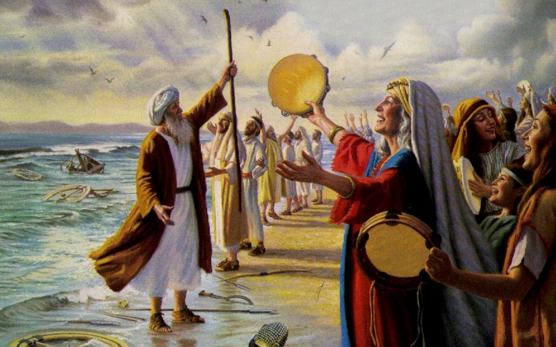 CANTICO MOISES (the Song of Moses)- unknown painter