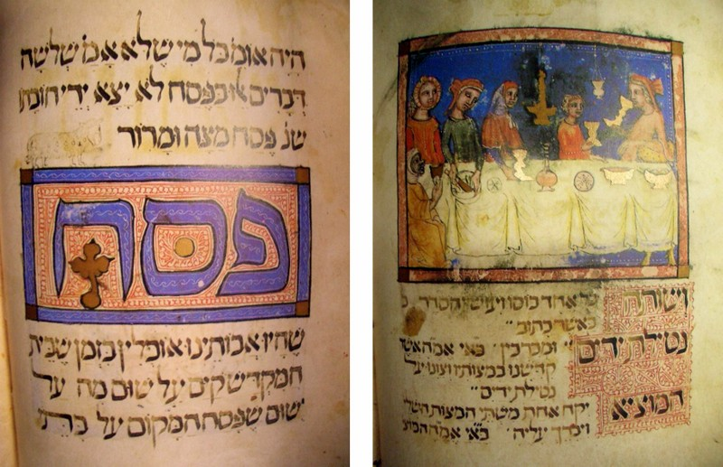 Pages from the Sarajevo Haggadah. CC BY-NC-SA AidaWeb101 | VisualHunt.com